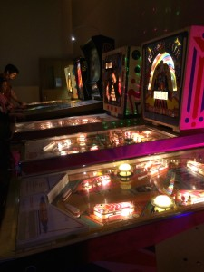 Room of pinball madness